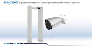 Mataas na Sensitivity ng temperatura ng EI-MD3000T Pagsukat ng Walkthrough Metal Detector (Mataas na Antas)
